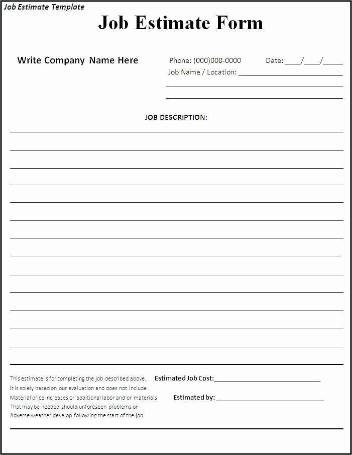 Free Bid Proposal Template Elegant Free Construction Bid Proposal Template Download Estimate Template Quote Template Invoice Template