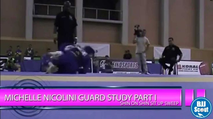BJJ Scout: Michelle Nicolini Guard Study Part 1: Shin-on-Shin Sit up Sweep