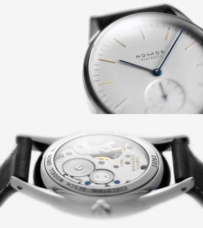 I don't need another hand wound watch, but this is the one that first caught my eye.  I bought the Tangente instead because there was one available.  Still...