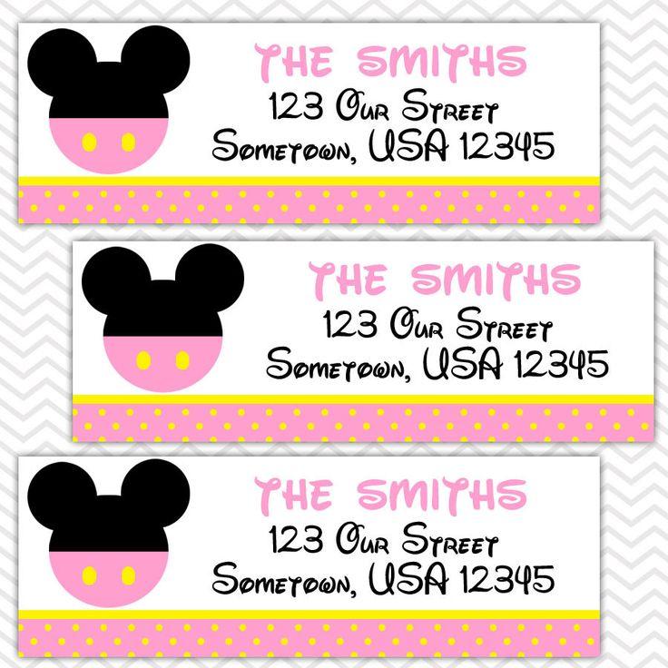 Return Address Labels Envelope Seals Stickers Shower 44 Best Audrey Charlie Joint Bday Party Images On Pinterest