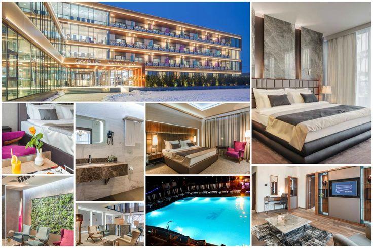 Sky Blue Hotel & Spa se află în Ploiești și oferă o piscină în aer liber, un centru spa și de wellness de mari dimensiuni, precum și micul dejun tip bufet în fiecare dimineață. Accesul WiFi este gratuit în întregul hotel. Toate camerele sunt mobilate elegant, având aer condiționat și balcon cu vedere la zona de piscină. Băile sunt dotate cu cadă, uscător de păr, articole de toaletă gratuite și papuci.