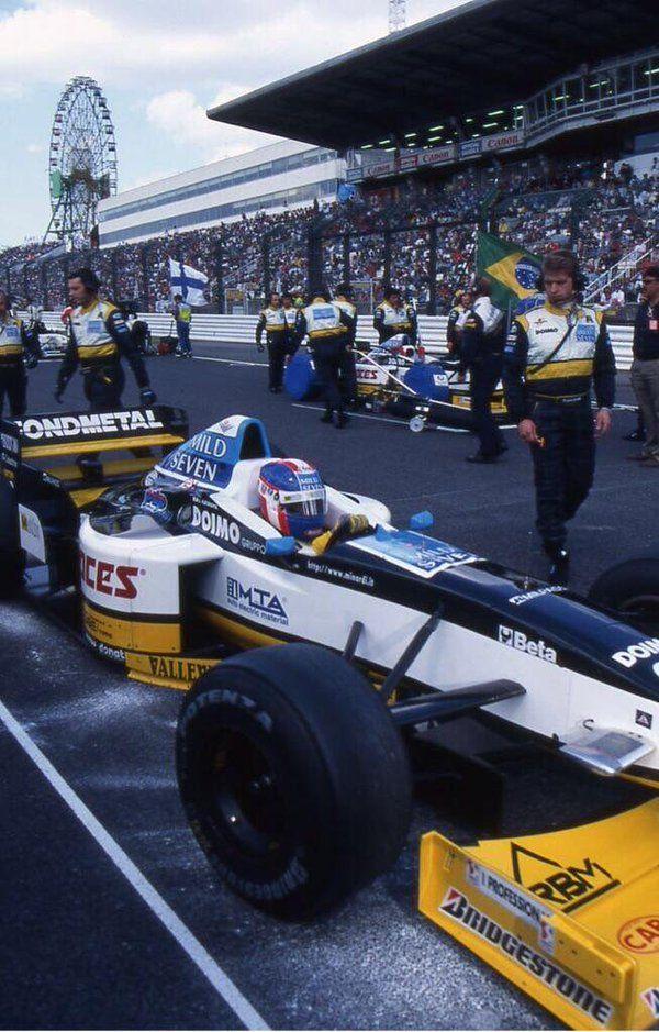 Ukyo Katayama (Minardi-Hart V8, M197)