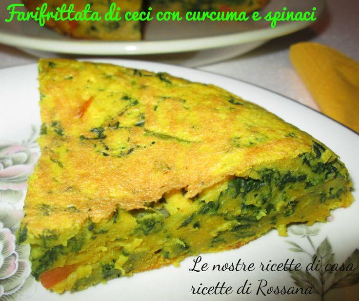 Farifrittata di ceci e spinaci, la frittata senza uova!