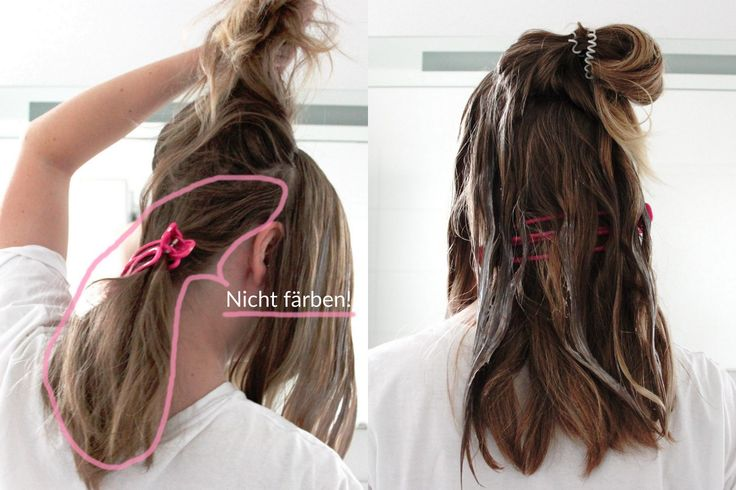 Ombré / Balayage / Babylights selbst färben Anleitung für aschblonde Haare DIY do it yourself Schwarzkopf Brillance Nordic Perlmutt Fashionblog romistyle