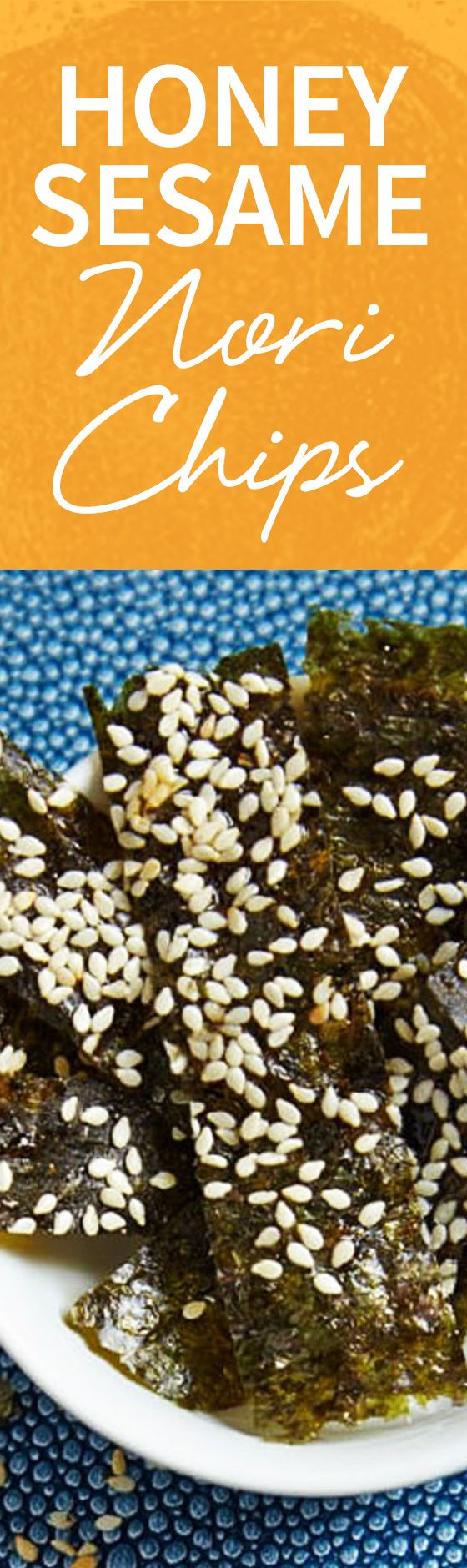 Check out these amazing seaweed chips--a snack that you can make, easy and quick! http://www.joyofkosher.com/recipes/honey-sesame-nori-chips/