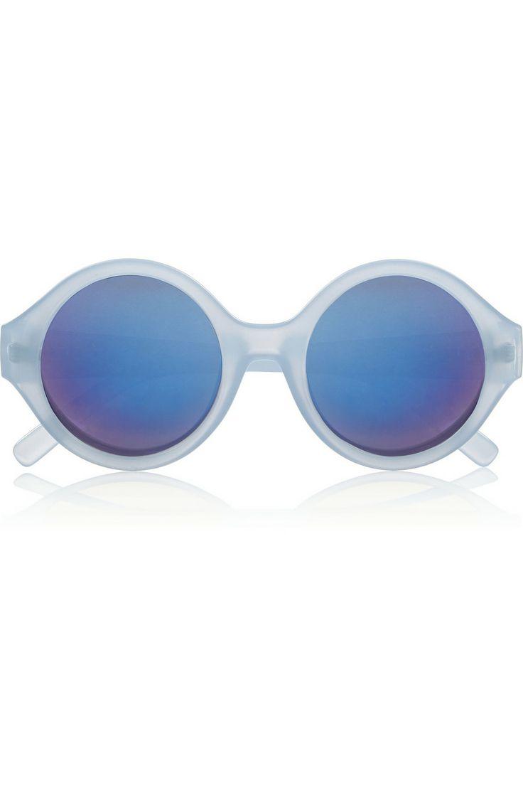 Le Характеристики | Денди ацетат круглого рамка зеркальные солнечные очки | NET-A-PORTER.COM