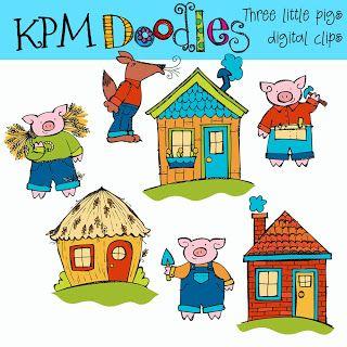 80 best Three Little Pigs images on Pinterest  Three little pigs