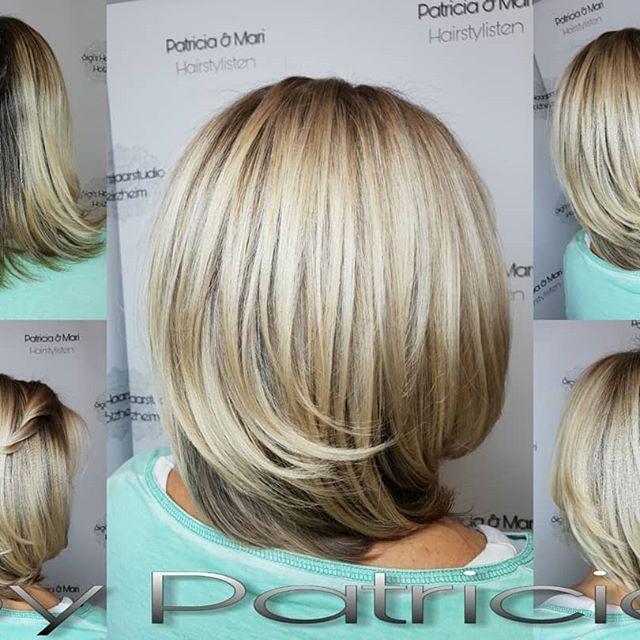 Verschiedene blondtöne strähnen