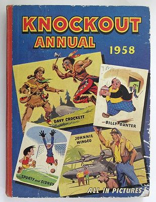 Knockout Annual 1958 www.marchhousebooks.com