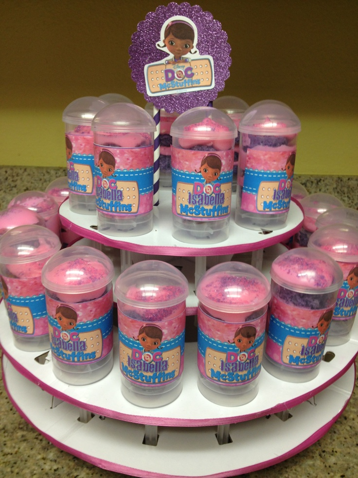 Doc Mc Stuffins Pushpops  By: Domestic Goddesses