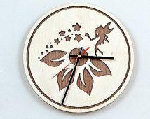 28cm de madera del reloj de pared / Home Decor / Reloj / Artículos para el Hogar