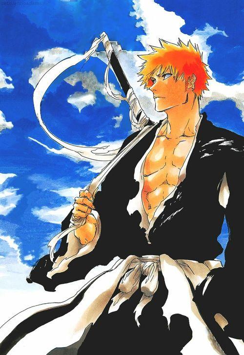 """Résultat de recherche d'images pour """"bleach ichigo manga"""""""