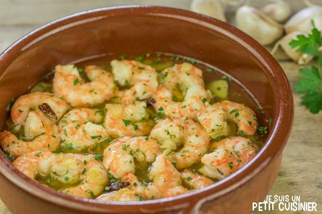 Recette de crevettes à l'ail à l'espagnole (gambas al ajillo)