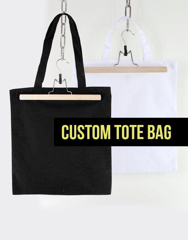 Custom Tote Bag Personalized Customized Gift Customised Personalised
