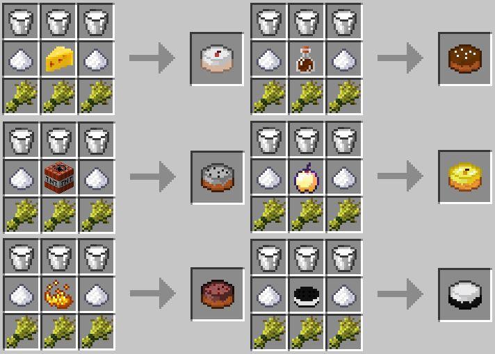 Jaffa Cake Recipe Minecraft