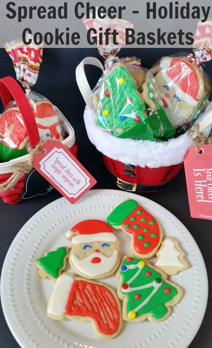 HOLIDAY COOKIE GIFT BASKETS + GIVEAWAY! $20 Paypal Cash or Amazon Online Gift Card