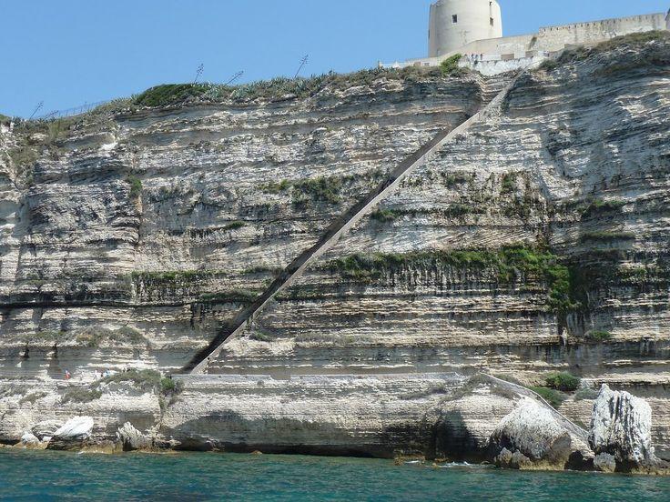 Escalier du Roi d'Aragon (King Aragon Steps) (Bonifacio, Francja) - opinie
