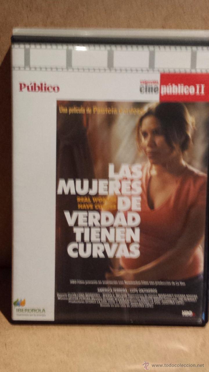 LAS MUJERES DE VERDAD TIENEN CURVAS. ELLYN LONG / MARIA E. NELSON - DVD DE LUJO