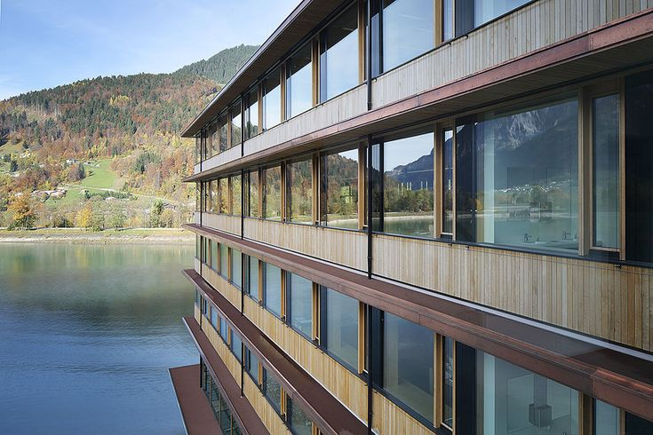 Hybrid Timber Building System: Office for Hydroelectric Power Plant