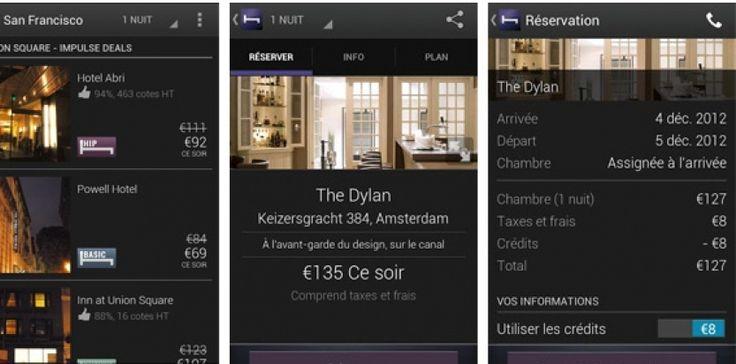 Hotel Tonight :  une app' pour réserver sa chambre à la dernière minute
