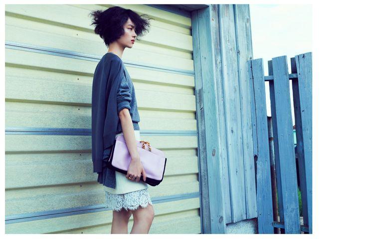 Sun Feifei by Lachlan Bailey (Elegant Weaving Vogue China September 2012) 5