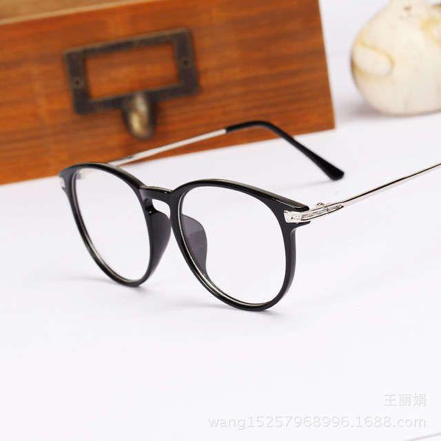 2015 New Brand Fashion Glasses Frame Oculos De Grau Femininos Round Computer Vintage Eyeglasses Optical Frame Spectacle N118