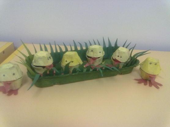 Мастер-класс по изготовлению цыплёнка из коробки из-под яиц. Воспитателям…