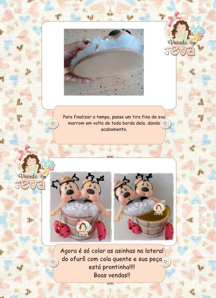 Pap y moldes mariquitas coquetas