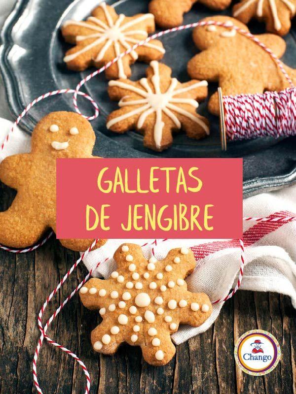 Hacé estás lindas y deliciosas galletas para esta #Navidad: http://blog.azucarchango.com.ar/blog/post/Galletas%20de%20jengibre/635  #Galletas #Repostería