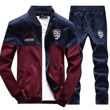 Tracksuit Tenis Baseball Golf Polo Suit M - 4xl Autumn Winter Men Sweatshirt  Pants Set Outdoor 4b06097b5bd
