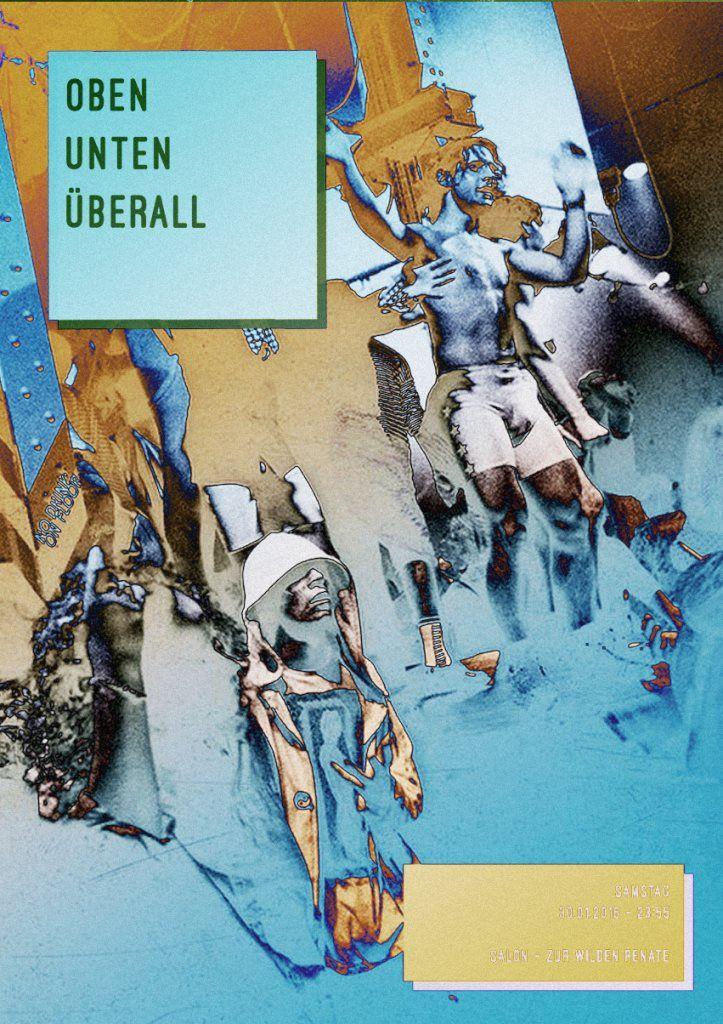 RA: Oben Unten Überall with Agaric, Synthek, Tallmen785, Daniel Dreier & More at Salon Zur Wilden Renate, Berlin