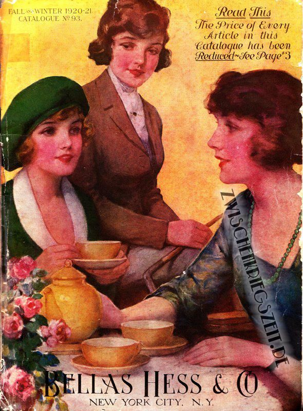 1920-21 Bellas Hess Katalog > 1920-21 Bellas Hess Cover. Весь каталог здесь: http://www.zwischenkriegszeit.de/photogallery.php?album_id=5