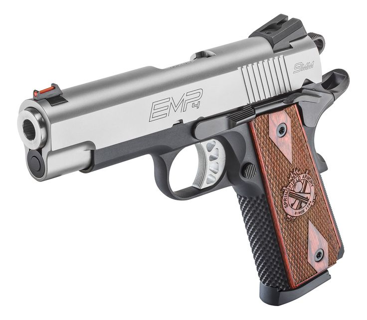 "The 1911 EMP® 4"" Lightweight Champion™ 9mm http://www.springfield-armory.com/products/1911-emp-4-lightweight-champion-9mm/"