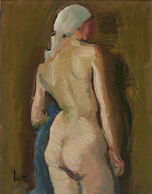 Iosif Iser (1881-1958) - Nud de femeie / Woman nude