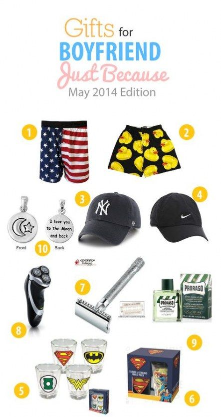 24  ideas for gifts ideas for boyfriend just because funny
