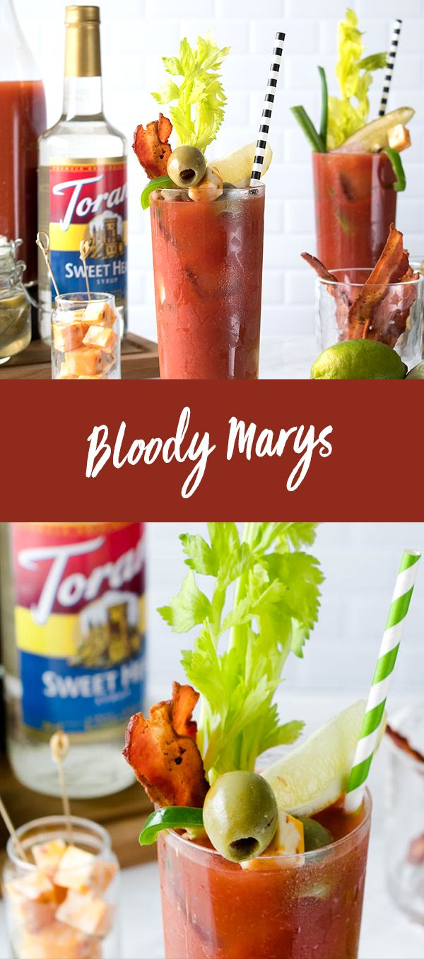 This Bloody Mary is good for any day! Add that extra kick with our Sweet Heat Syrup - a sweet take on the fire-y ghost pepper - snd you've got yourself a well rounded meal if you ask us
