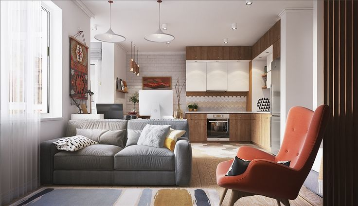 16 best 30 sq images on Pinterest Small apartments, Apartments and