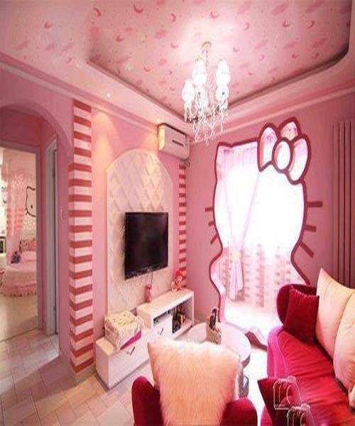 1000 images about hello kitty on pinterest plaza - Deco chambre hello kitty ...