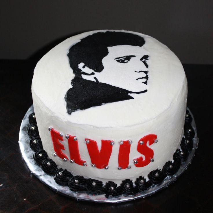 16 Best Cakes Elvis Images On Pinterest Elvis Cakes Elvis