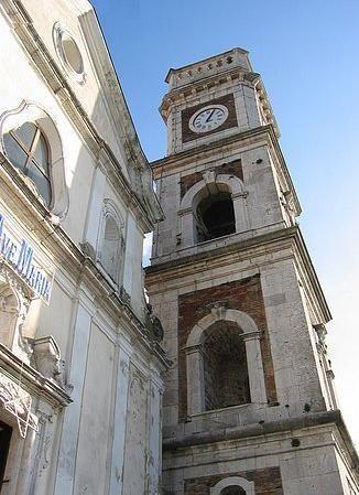 Grottaminarda, Italy - chiesa Santa Maria Maggiore  (my grandfather's hometown)