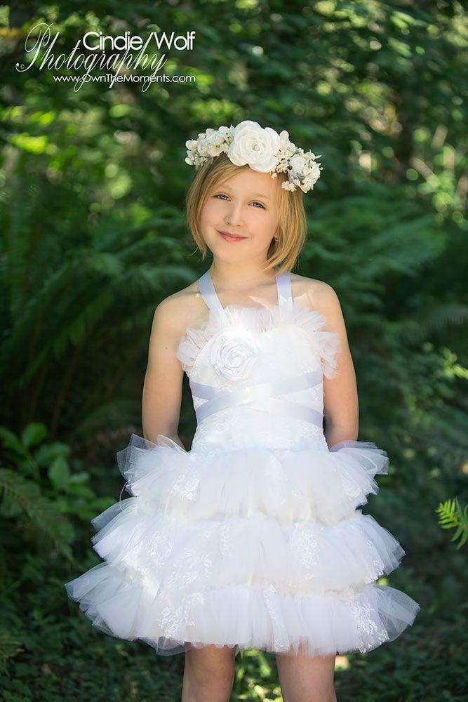 Flower girl dress by Of Faith & Grace