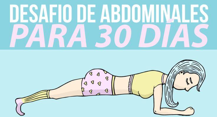 Súmate al desafío de 30 días para tener unos abdominales tonificados | Upsocl