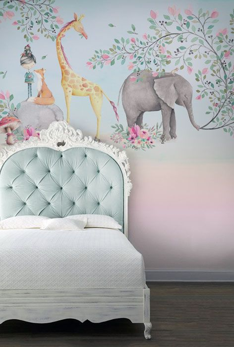 Wall Designs For Girls best 25+ girls bedroom mural ideas on pinterest | wall murals