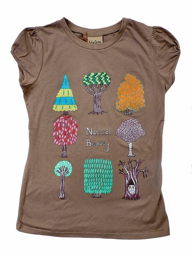 printed t shirt by kate garey | notonthehighstreet.com