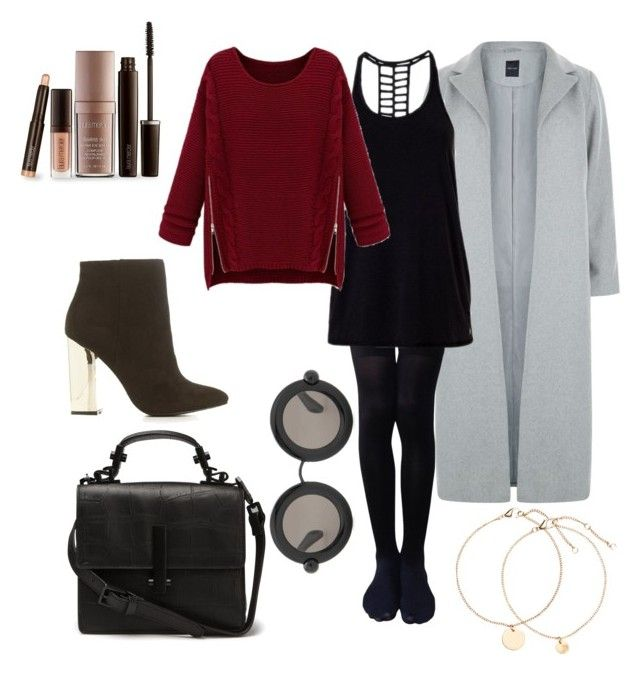 """""""#Capodanno #Danno #Party"""" by firefashionga on Polyvore featuring moda, New Look, Express, WithChic, Charlotte Russe, Christopher Kane e Laura Mercier"""