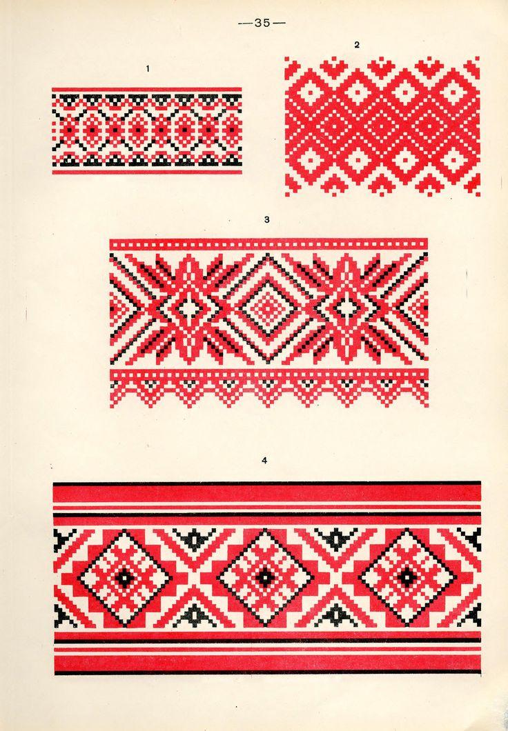 https://flic.kr/p/fQaABk | Белорусский народный орнамент - 1953_125 | Belarusian ethnic embroidery