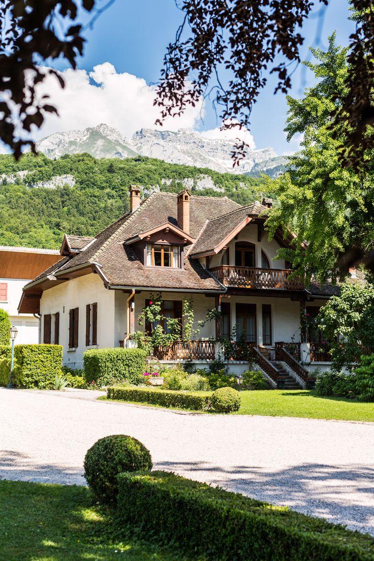 La Villa Bourdier #chateauhotelscollection #talloires #annecy #lake #lac #mountains #montagne #detente #loisirs #vacances