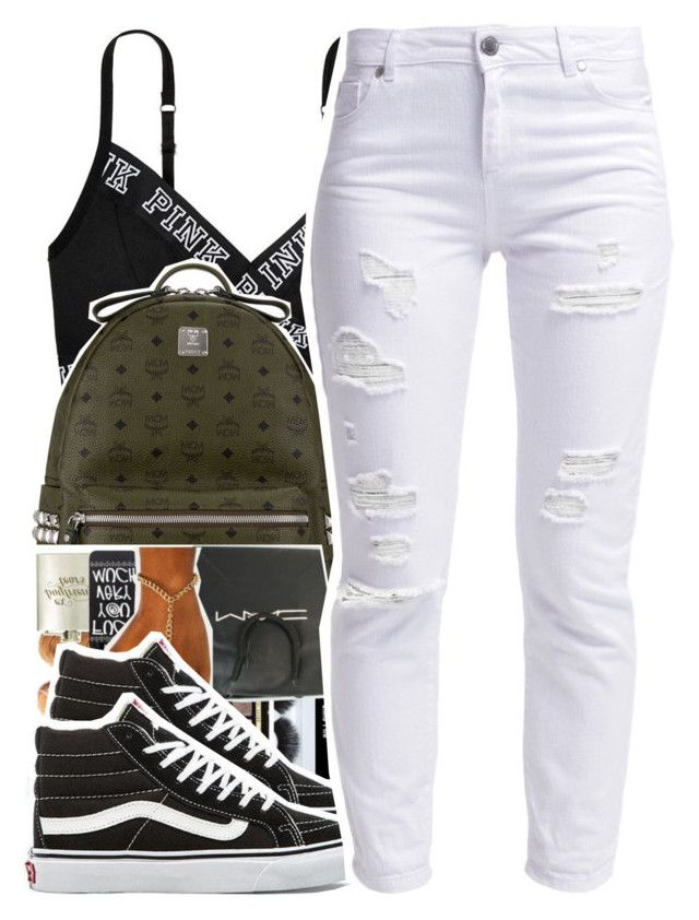 """December.19.2K15"" by khiidamy4502 ❤ liked on Polyvore featuring MCM, Vans and Miss Selfridge"