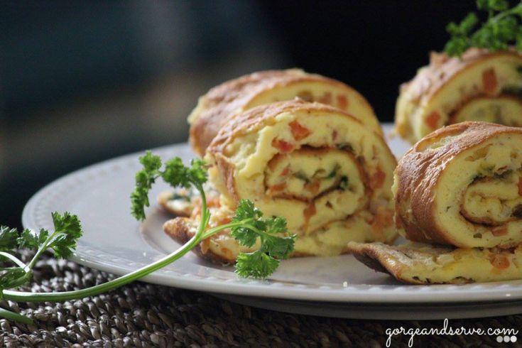 Baked Omelet Roll, A wonderful brunch idea