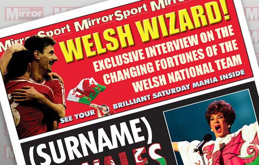 I Just Love It New Wales Manager Spoof Newspapers New Wales Manager Spoof Newspapers - Gift Details. At long last your chosen Name has become the manager of their beloved Wales national football team. And as you?d expect the Daily Mirror has all the http://www.MightGet.com/january-2017-11/i-just-love-it-new-wales-manager-spoof-newspapers.asp